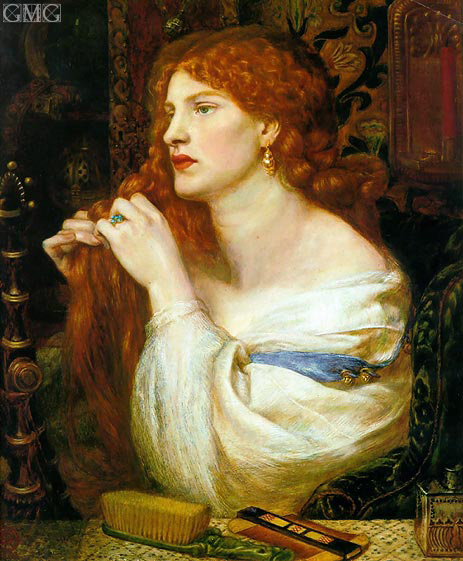 Aurelia (Fazio's Mistress), c.1863/73 | Rossetti | Painting Reproduction