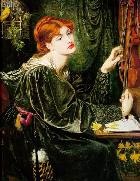 Veronica Veronese, 1872 | Rossetti | Painting Reproduction