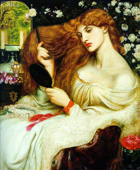 Lady Lilith, 1868 | Rossetti | Gemälde Reproduktion