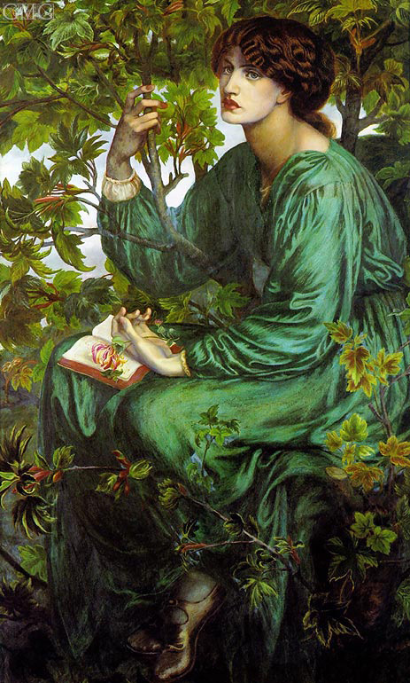 The Day Dream, 1880 | Rossetti | Painting Reproduction