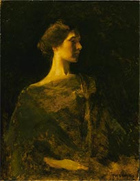 Alma, c.1895/00 by Thomas Wilmer Dewing | Painting Reproduction
