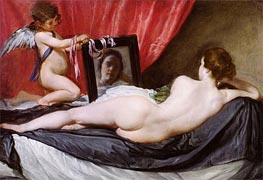 The Rokeby Venus, c.1647/51 by Velazquez | Painting Reproduction