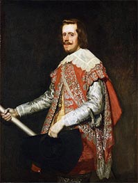 King Philip IV of Spain | Velazquez | Painting Reproduction