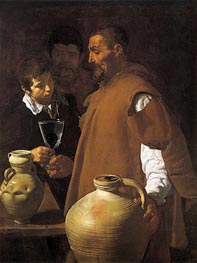 The Waterseller of Seville, c.1620 von Velazquez | Gemälde-Reproduktion