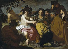 The Triumph of Bacchus, c.1628/29 von Velazquez | Gemälde-Reproduktion