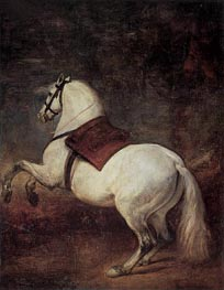 A White Horse | Velazquez | Painting Reproduction