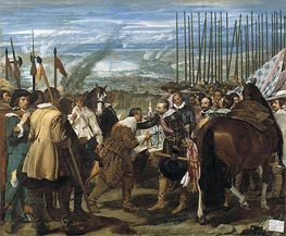 Surrender of Breda (Las Lanzas) | Velazquez | Painting Reproduction