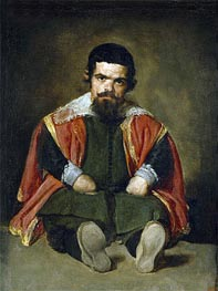 The Buffoon Sebastian de Morra | Velazquez | Gemälde Reproduktion