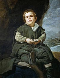 Francisco Lezcano 'The Boy from Vallecas' | Velazquez | Painting Reproduction