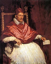 Pope Innocent X | Velazquez | Painting Reproduction