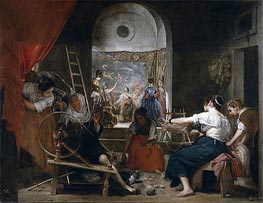 The Fable of Arachne | Velazquez | Painting Reproduction