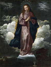 The Immaculate Conception, c.1618 by Velazquez | Painting Reproduction