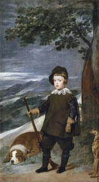 Prince Baltasar Carlos as a Hunter | Velazquez | Painting Reproduction