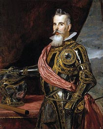 Juan Francisco de Pimentel Tenth Count of Benavente | Velazquez | Painting Reproduction