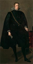 Philip IV, King of Spain | Velazquez | Painting Reproduction