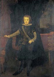 Prince Baltasar Carlos in Black and Silver, c.1640 von Velazquez | Gemälde-Reproduktion