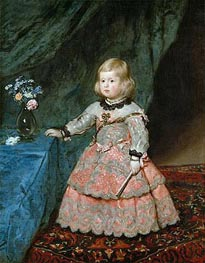 Infanta Marguarite Therese | Velazquez | Painting Reproduction