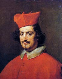 Cardinal Camillo Astalli | Velazquez | Painting Reproduction