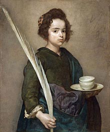 Saint Rufina | Velazquez | Painting Reproduction