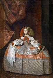 The Infanta Margarita de Austria | Velazquez | Painting Reproduction