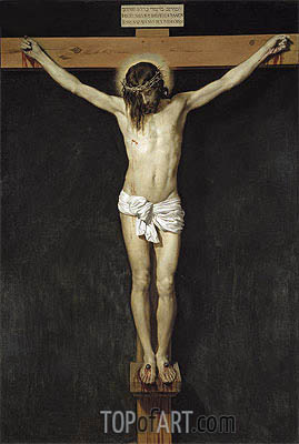 Christ on the Cross, c.1632 | Velazquez | Painting Reproduction