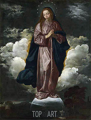 The Immaculate Conception, c.1618 | Velazquez | Painting Reproduction