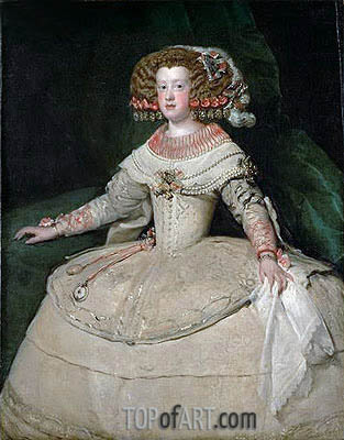 Infanta Maria Teresa, c.1652/53 | Velazquez | Painting Reproduction