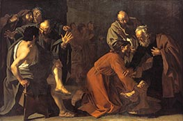 Christ Washing the Apostles Feet, 1616 by Dirck van Baburen | Painting Reproduction