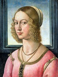 Portrait of Giovanna Tornabuoni | Ghirlandaio | Painting Reproduction