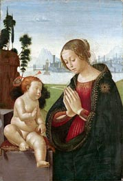 Virgin and Child | Ghirlandaio | Painting Reproduction