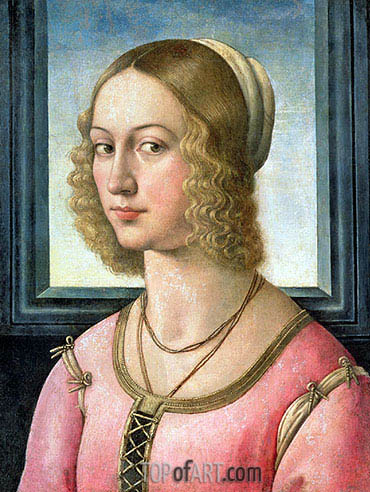 Portrait of Giovanna Tornabuoni, c.1485/88 | Ghirlandaio | Painting Reproduction