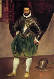Portrait of Vincenzo Anastagi | El Greco | Painting Reproduction