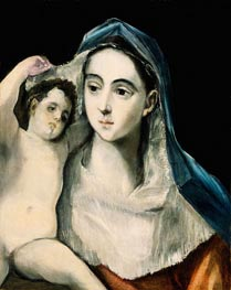 Madonna and Child | El Greco | Painting Reproduction