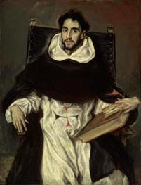 Portrait of Fray Hortensio Felix Paravicino | El Greco | Painting Reproduction