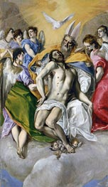 The Trinity, c.1577/79 by El Greco | Painting Reproduction