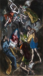 Adoration of the Shepherds | El Greco | Painting Reproduction