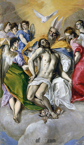 The Trinity, c.1577/79 | El Greco | Painting Reproduction
