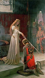 The Accolade, 1901 von Blair Leighton | Gemälde-Reproduktion
