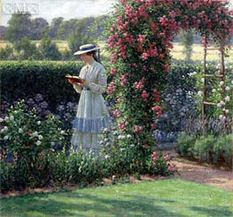 Sweet Solitude | Blair Leighton | Painting Reproduction