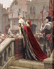 A Little Prince Likely in Time to Bless a Royal Throne, 1904 von Blair Leighton | Gemälde-Reproduktion
