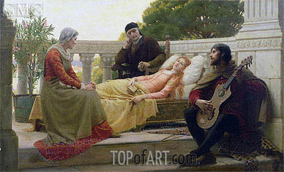 How Liza Loved the King, 1890 | Blair Leighton | Painting Reproduction