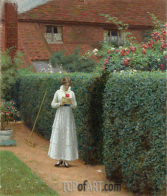 Le Billet Doux, 1915 | Blair Leighton | Painting Reproduction