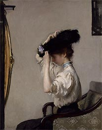 Preparing for the Matinee, 1907 by Edmund Charles Tarbell | Painting Reproduction