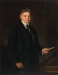 Herbert Hoover, 1921 by Edmund Charles Tarbell | Painting Reproduction