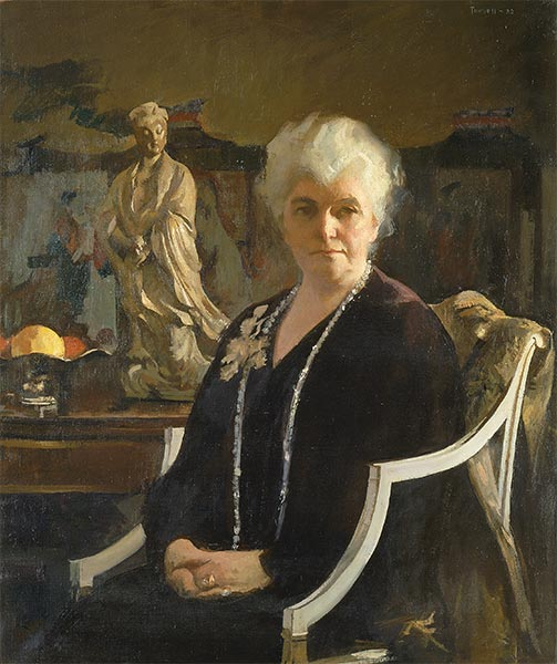 Mrs. Edmund C. Tarbell, 1933 | Edmund Charles Tarbell | Painting Reproduction