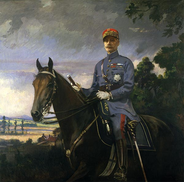 Marshal Ferdinand Foch, 1920 | Edmund Charles Tarbell | Painting Reproduction