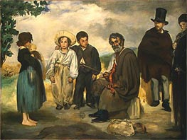 The Old Musician, 1862 von Manet | Gemälde-Reproduktion