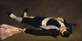 The Dead Toreador, c.1864 von Manet | Gemälde-Reproduktion