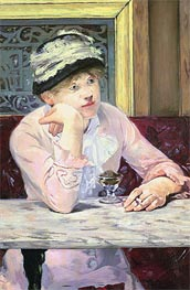 Plum Brandy, 1878 by Manet | Painting Reproduction