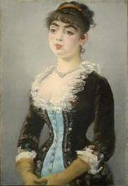 Madame Michel-Levy, 1882 von Manet | Gemälde-Reproduktion